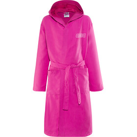 arena Zeals Bathrobe Kinder fresia rose-white